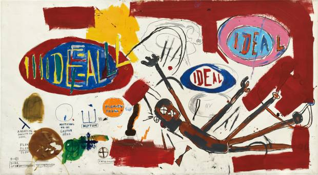 Victor 25448, 1987, by Jean-Michel Basquiat, valued at $10m