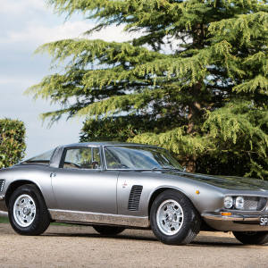 City trader Zak Dhabalia's 1967 Iso Grifo 5.4-litre coupé, bought for £191,900 at the Bonhams Goodwood Festival of Speed auction