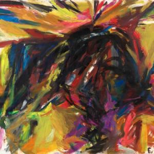 Untitled (Standing Bull) by Elaine de Kooning