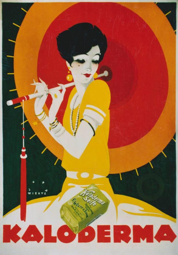Eric Kellenberger's rare 1927 Jupp Wiertz Kaloderma soap poster