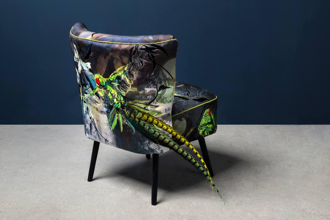 Jacky Puzey's Parakeet chair, £2,640