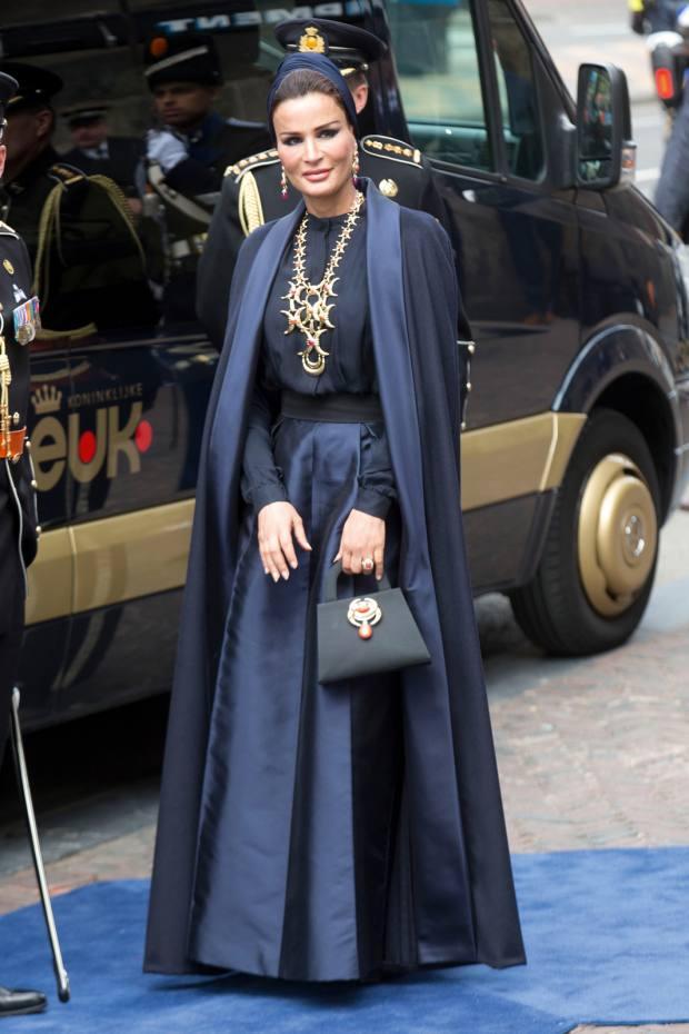Silvia Furmanovich's style icon, Sheikha Moza bint Nasser