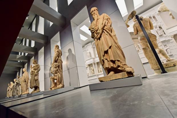 The reimagined Museo dell'Opera del Duomo is beautifully curated