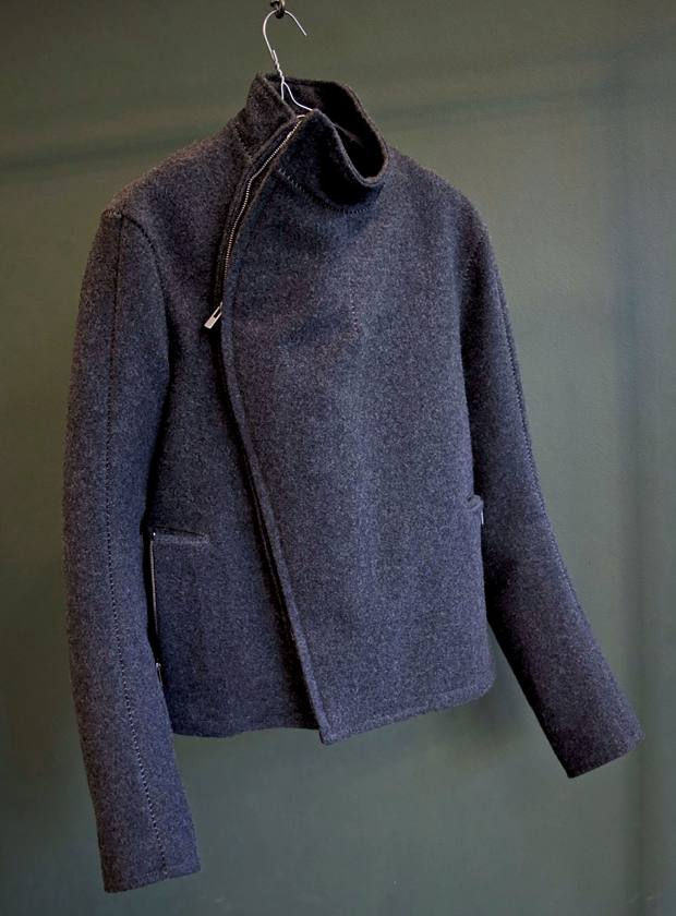 Christian Poell wool fencing jacket, £1,950