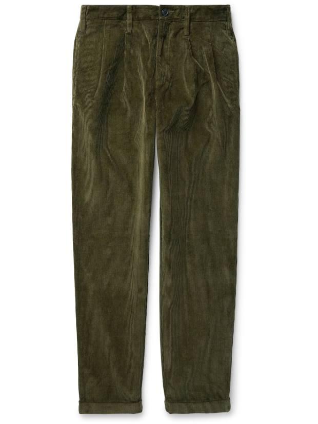 J Crew corduroy trousers, £200, mrporter.com