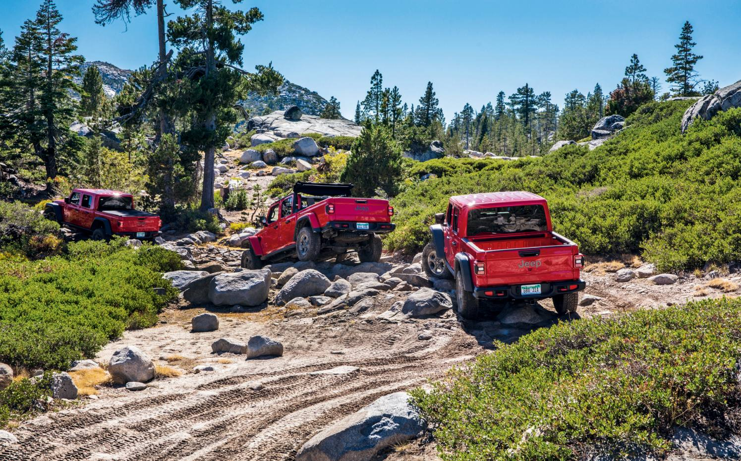 Jeep Gladiator, currently US only, from $33,545
