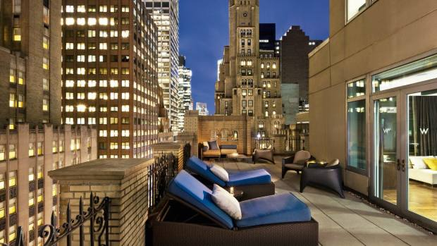 W New York – Times Square hotel