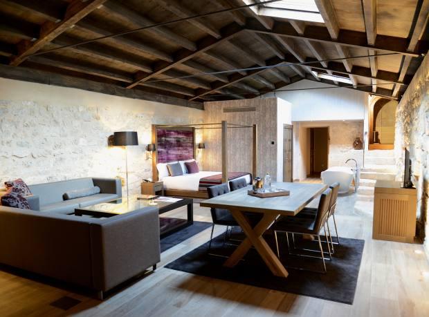 A minimalist interior at Monasterio de Valbuena