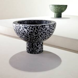 Flint bowls in charcoal and sage (also rosa, not shown), £64, or £163 for three