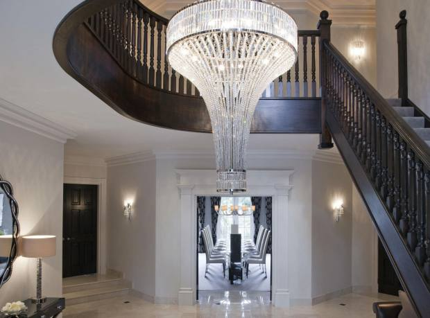 Chandelier by Phillips & Wood commissioned by The Studio at Harrods, price on request.