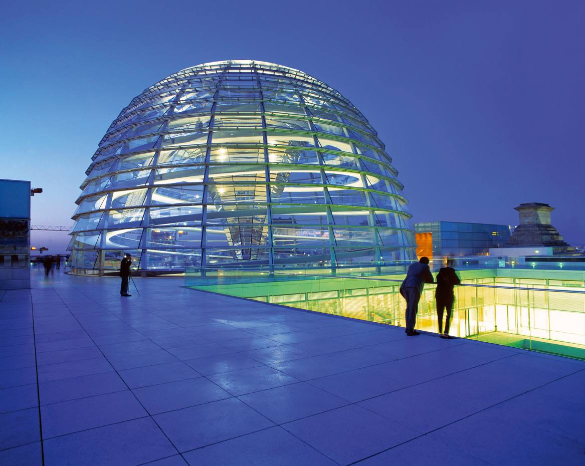 The roof of Berlin's Reichstag, which is a dinner location on one of RedSavannah's new cultural itineraries