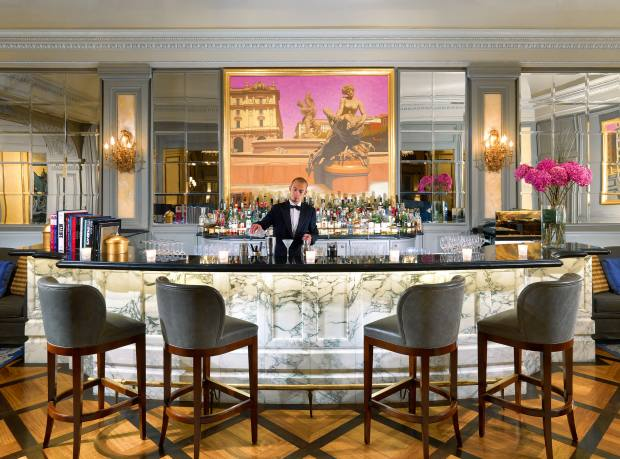 Le Grand Bar at the St Regis Rome. Maxxi