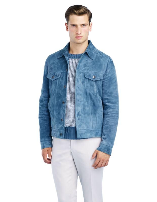 Gieves & Hawkes suede jacket, £1,795