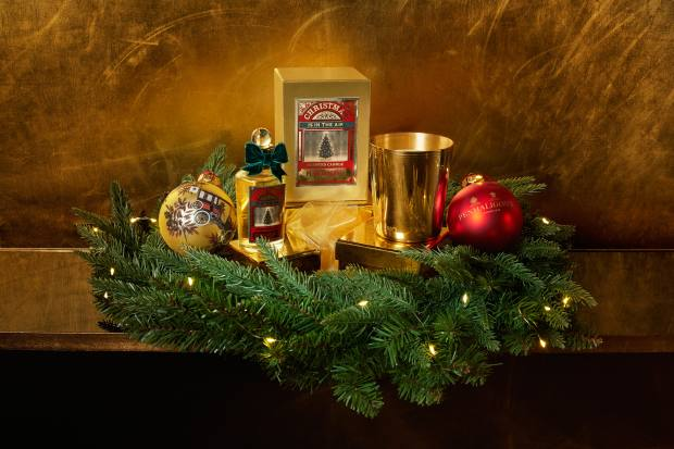 Penhaligon's and the Savoy Grill have united to create the Scent of Christmas Kitchen Table menu