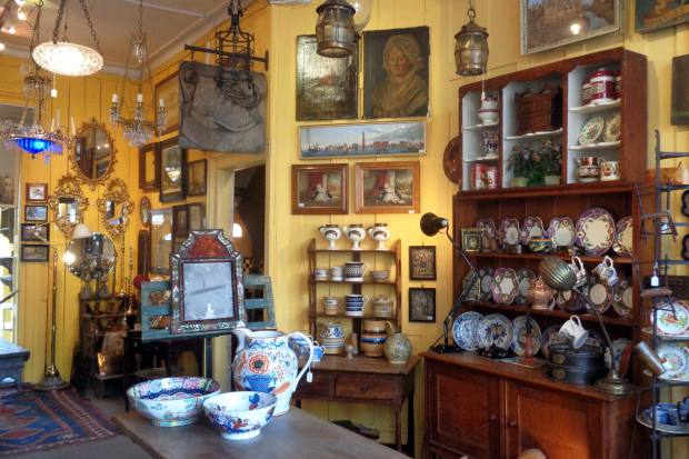 The Lacquer Chest, an antiques shop in Kensington, has been open since the '50s