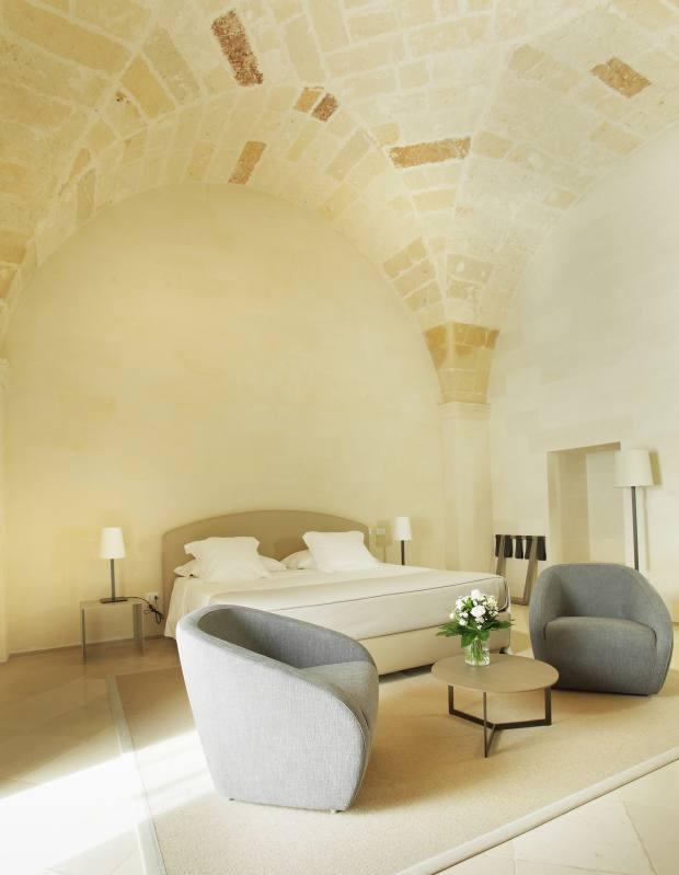 A suite at La Fiermontina