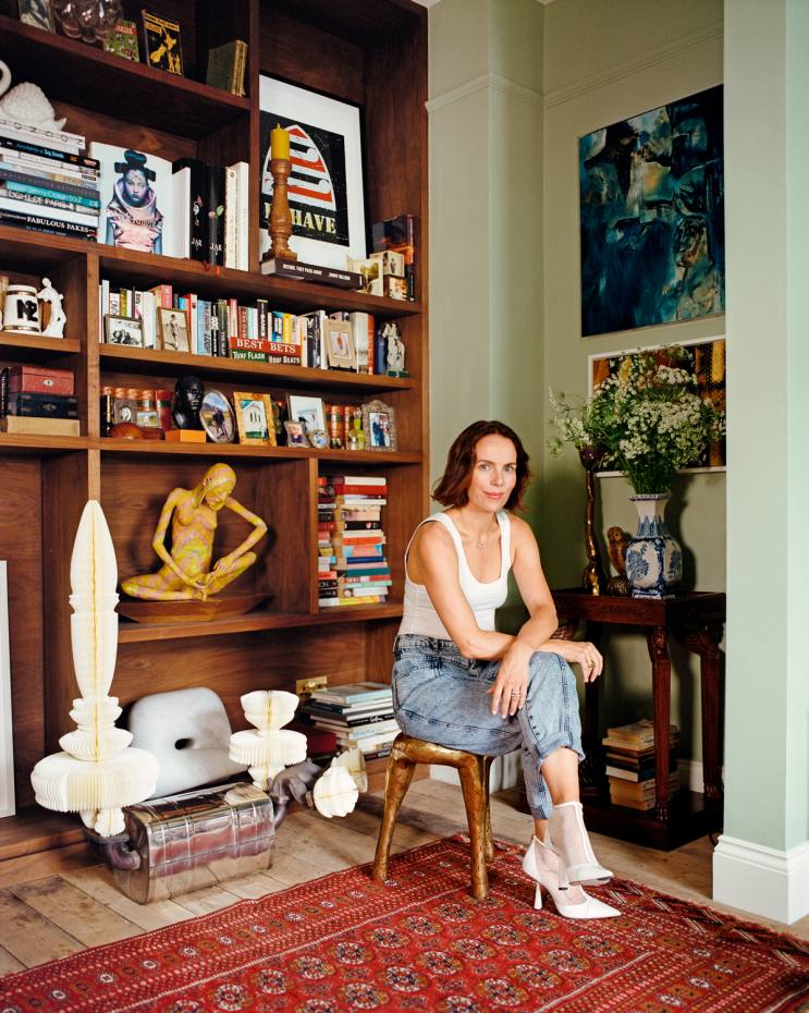 Jessica McCormack at home in Kensal Green