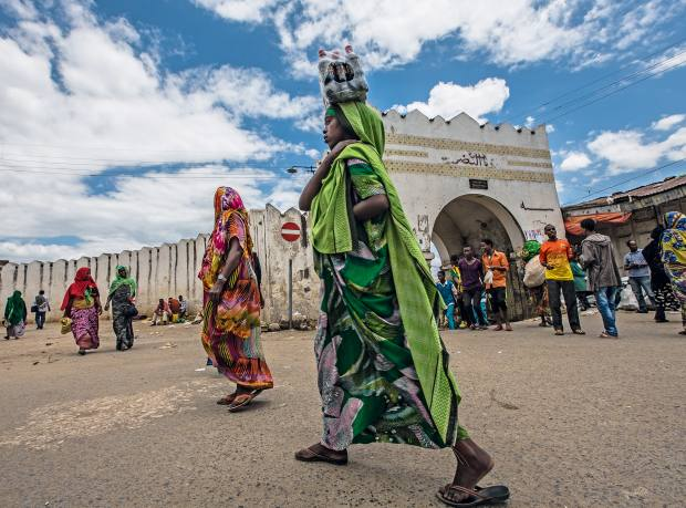 Harar's Unesco-listed old town