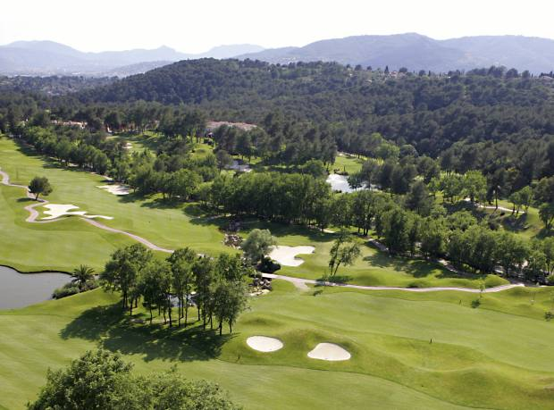 The Royal Mougins course, designed by Robert von Hagge.