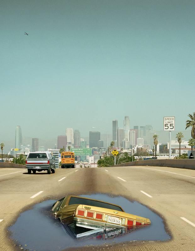 Interstate 110, 2012, by Alex Prager