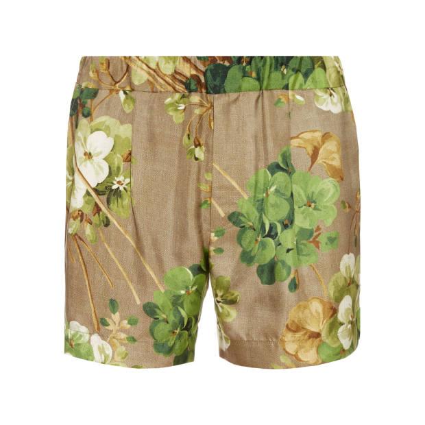Gucci silk Colorado shorts, £365