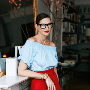 Jenna Lyons at her home in New York