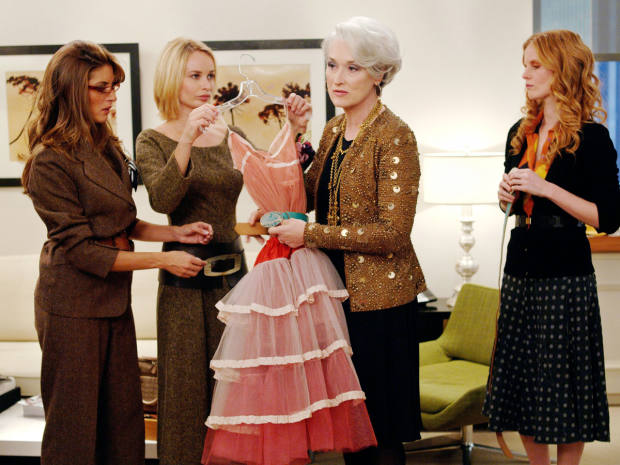 In 2006, The Devil Wears Prada came to the big screen