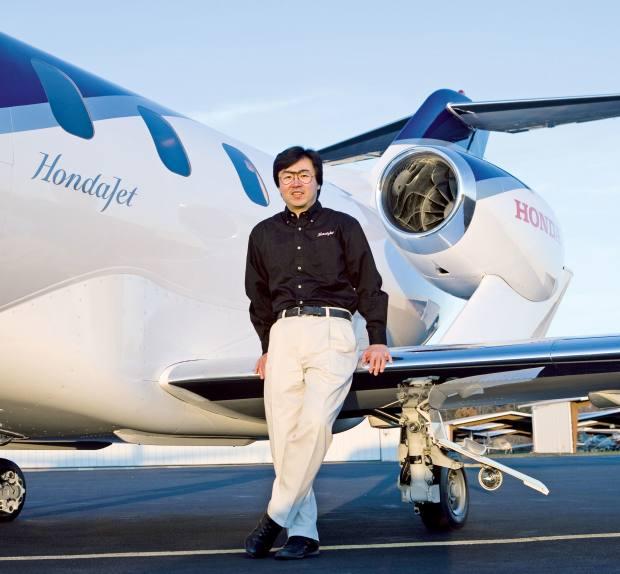 Creator of the jet andCEO of Honda Aircraft Company Michimasa Fujino