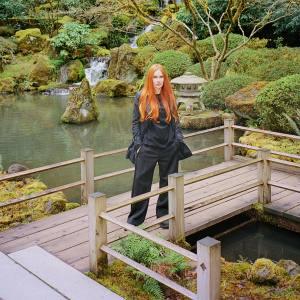 Kristin Hildebrand at Portland Japanese Garden