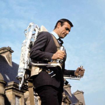 Sean Connery in Thunderball, 1965