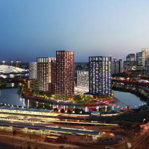 London City Island development