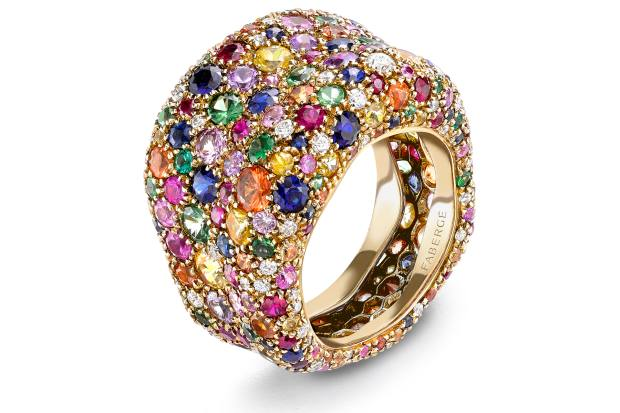 Fabergé Emotion Multicoloured Ring