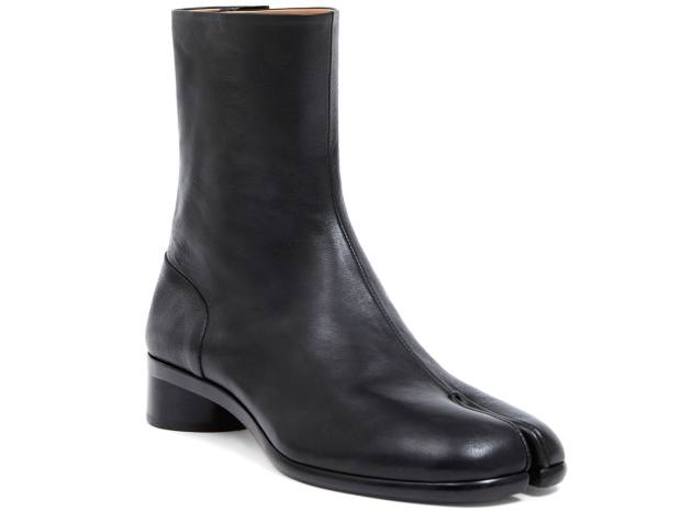 Margiela leather Tabi boots, £805