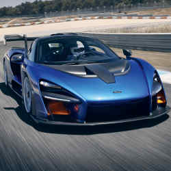 All editions of the McLaren Senna, £750,000, were sold before its official launch