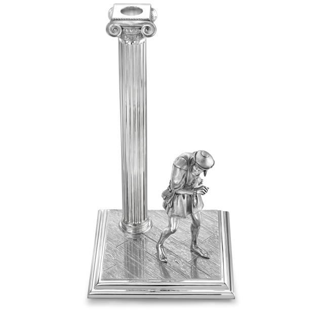 The Richard III candlestick – each piece is priced at £15,000, with 10 per cent of the proceeds going to the RSC