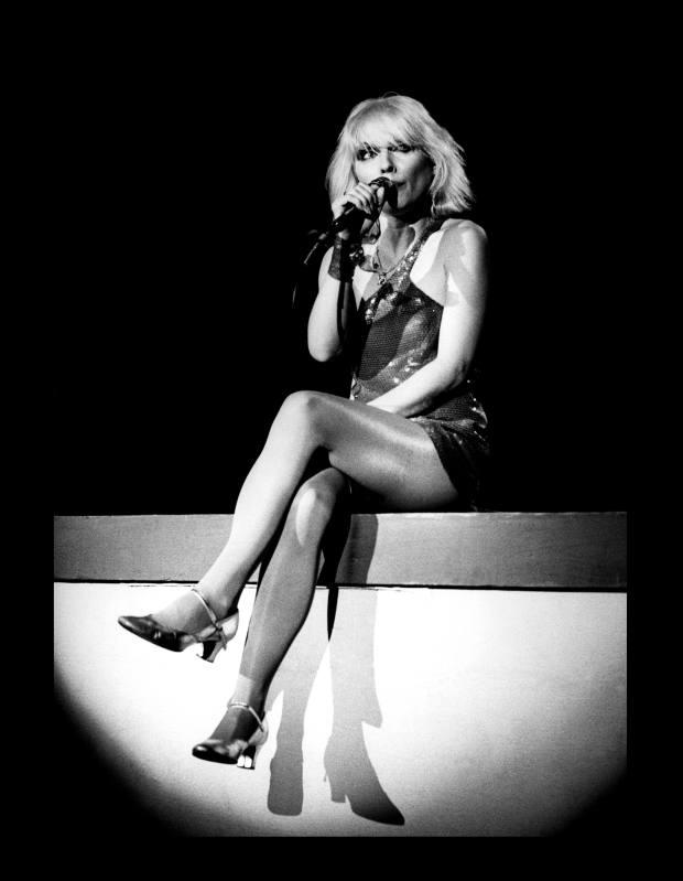 Blondie by Allan Ballard, from Rockarchive