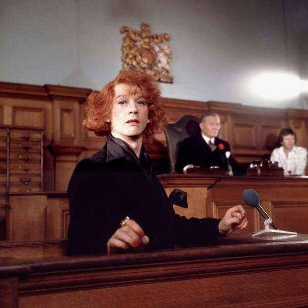 John Hurt as Quentin Crisp in The Naked Civil Servant