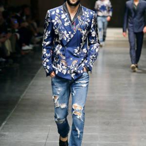 Dolce & Gabbana silk-twill jacket, £2,200