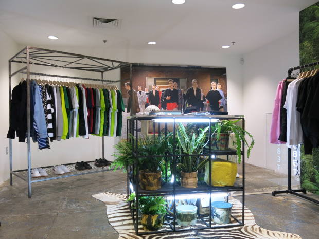 New York branch of Dover Street Market