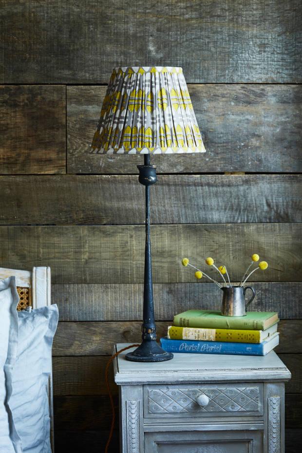 Samarkand Design 60cm vintage-silk-sari lampshade, £235
