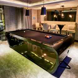 Billards Toulet BlackLight pool table, €31,800
