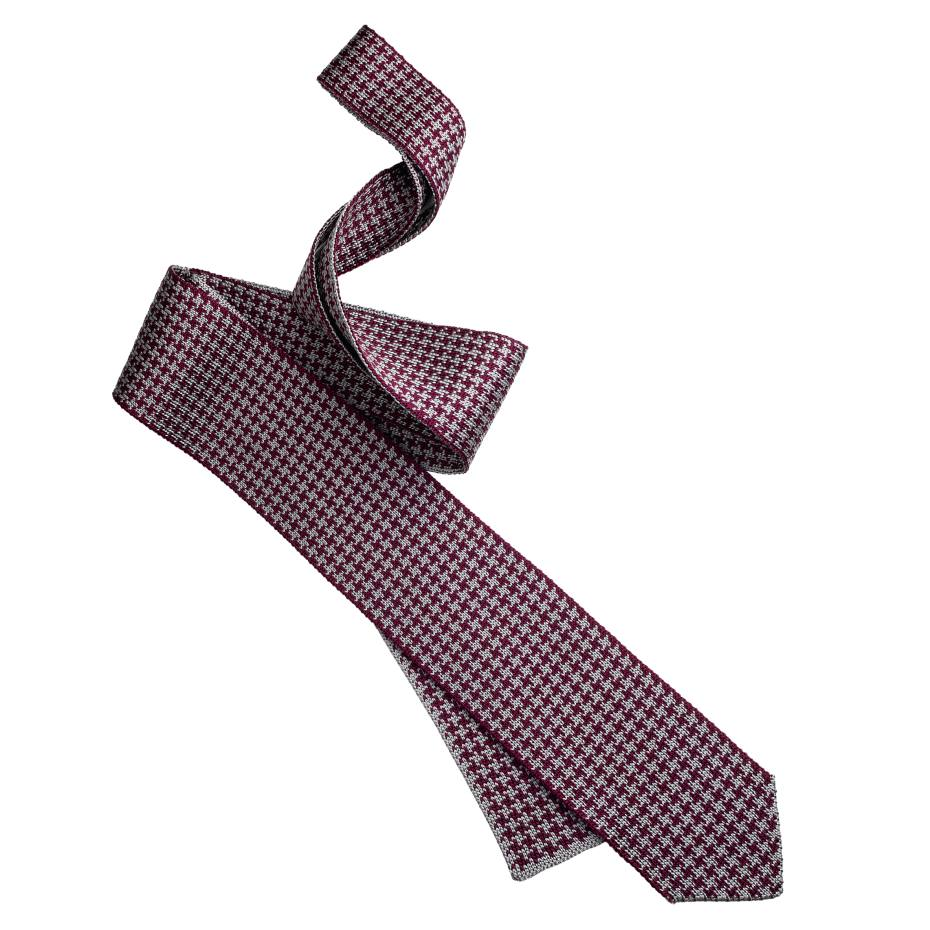 Brioni tie in knitted silk/cotton, £160. Also in other colours