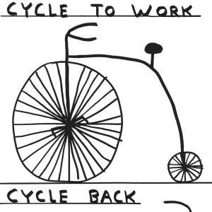 David Shrigley, Work and Back