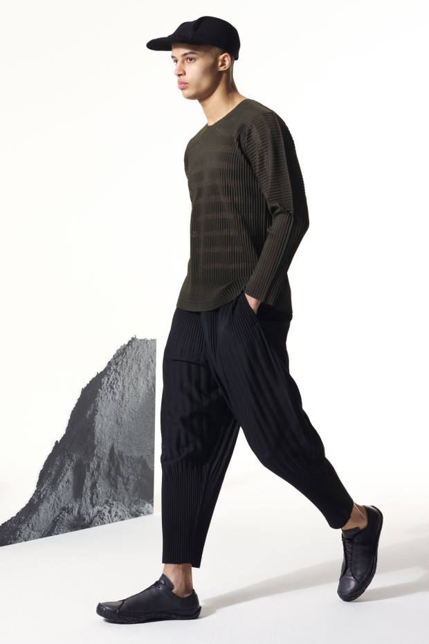 Issey Miyake Homme Plissé trousers, £305