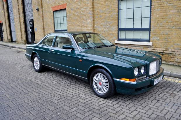 The racing-green Bentley Continental R sold by Coys for £24,150