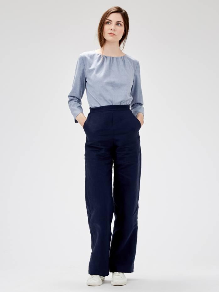 Pauline Burrows handpicks fabrics from the UK, Europe and Japan