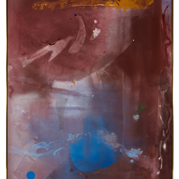 Geoffrey Diner Gallery is offering Helen Frankenthaler's Cinquecento, 1985, for in the region of $2m to $2.7m