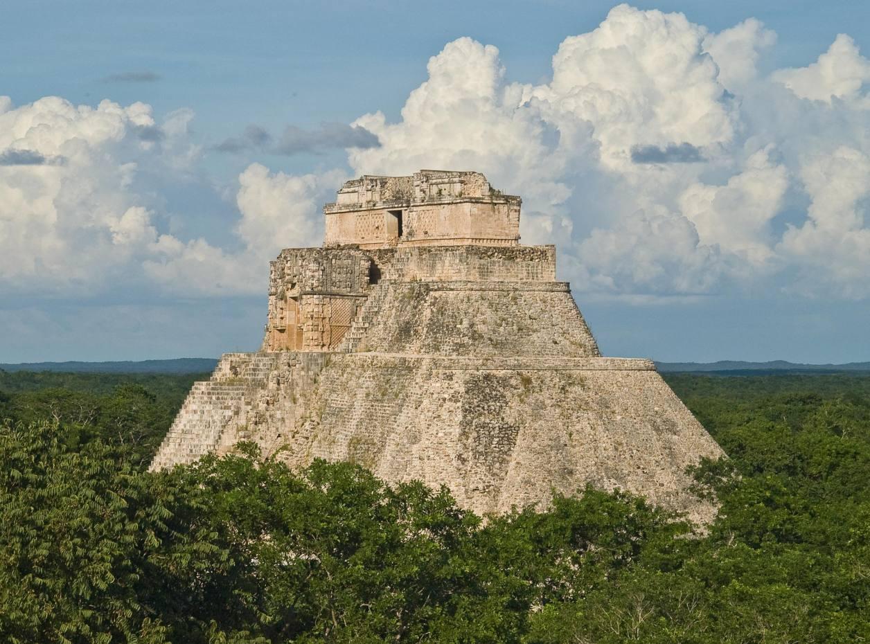 The Mayan Pyramid of the Magician, Uxmal