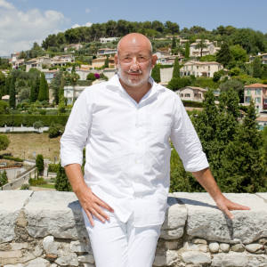 Jean-Marie Massaud in Saint-Paul-de-Vence, Côte d'Azur