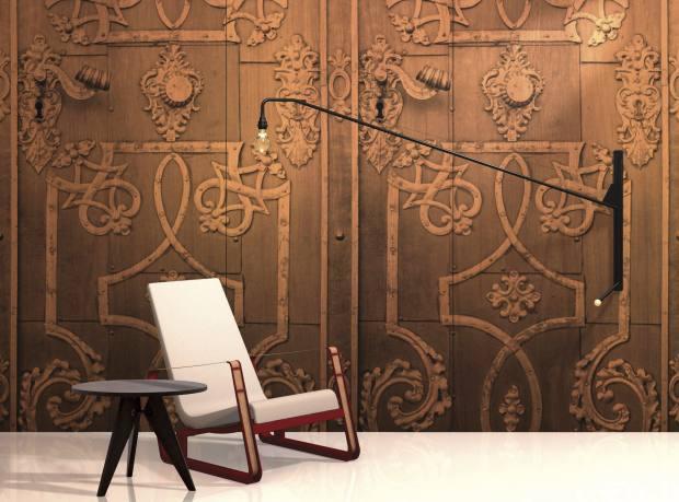 B&N Industries wood veneer panels, from $825 per 8ft x 4ft board